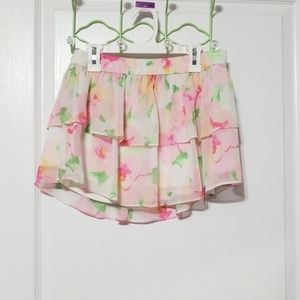 🦋3/$15💰Floral Abercrombie & Fitch Skirt